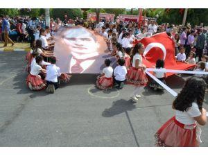 Bozyazı'da 23 Nisan Coşkuyla Kutlandı