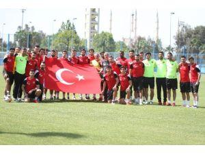Eskişehirspor'da Mersin Maçının Çalışmaları Tamamlandı