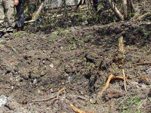 Yayladağı kırsalına havan topu mermisi düştü