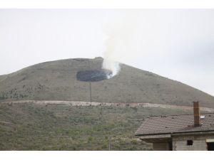 Ali Dağı'nda Yangın