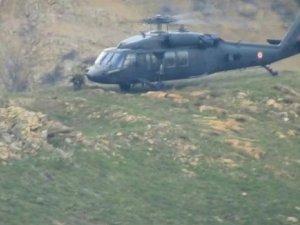 Tunceli'de hava destekli terör operasyonu