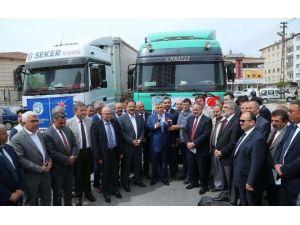 Güvenlik Güçlerine Kayseri'den 5 Ton Elma Gönderildi