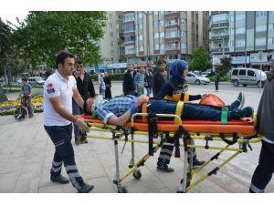 Elektrikli Bisiklet Kazası: 1 Yaralı