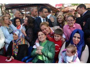 """Meral Akşener: """"Elinde Bilgi Belge Olup Da Savcılığa Götürmeyen Müfteridir"""""""