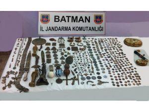 Batman'da tarihi eser operasyonu
