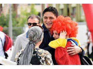 Uluslararası Çocuk Şenliği'nde Eğlence Doruğa Çıktı