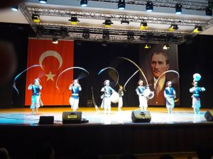 Koreli davulcuların Ankara şovu nefes kesti