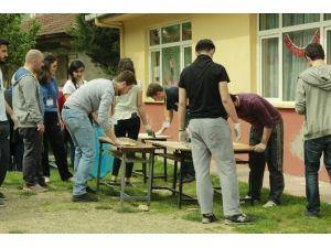 Üniversite Öğrencilerinden 'Şehirden Çıktım Köye' Projesi