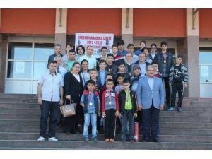 ERDEMİR Anadolu Lisesi'nden Satranç Turnuvası
