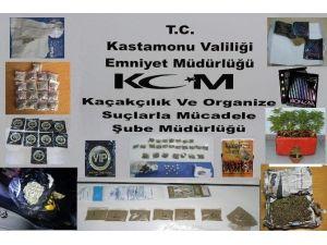 Kastamonu Tarihinin En Büyük Uyuşturucu Operasyonu Yapıldı