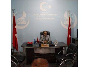 """Afyonkarahisar Ülkü Ocakları Kente """"İstiklal Madalyası"""" Verilmesi Fikrini Desteklediklerini Açıkladı"""