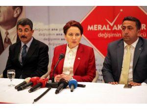 """Meral Akşener: """"Türkiye'deki Bütün Güç Odakları Bana Saldırıyor"""""""