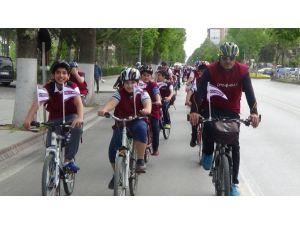 Çınar Koleji Öğrencileri Sağlıklı Yaşam İçin Pedal Çevirdi