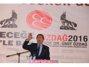MHP Kayseri Milletvekili Prof. Dr. Yusuf Halacoğlu: