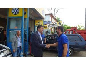 Bakan Yardımcısı Çelik'ten Yenikent Bölgesine Ziyaret