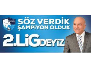 B.b. Erzurumspor Şampiyon Oldu