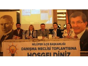AK Parti Nilüfer 40. Danışma Meclisinde Buluştu