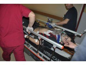 Çatıdan Düşen Genç Ağır Yaralandı