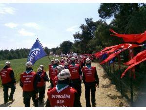 'Kınalı Kuzular Çanakkale'de'