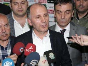 Trabzonspor Kulübü Başkanı Usta: Bu olay muhtemel bir provokasyonun izlerini taşıyor