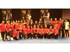 Özel turnuvada milli tekvandocular 12 madalya kazandı