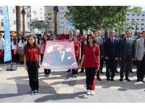 Denizli'de Gençler 'Şehitler Ölmez, Vatan Bölünmez' Diyerek Yürüdü