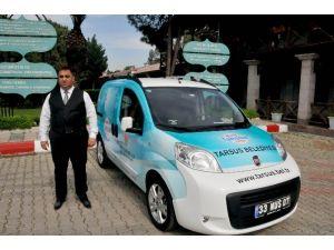Tarsus Belediyesi'nden Mobil Tahsilat Aracı Hizmeti
