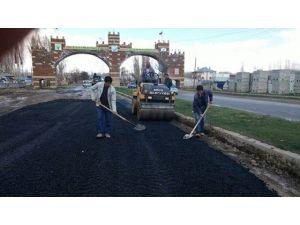 Erciş Belediyesi Yol Onarım Çalışmaları