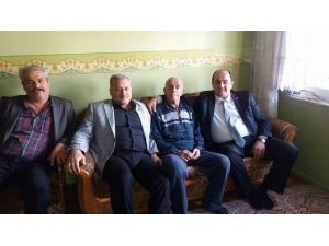 Başkan Demirtaş'tan Yaşlılara Evinde Ziyaret