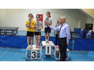 İlk Ve Ortaokul Öğrencileri Ferdi Masa Tenisi Turnuvası