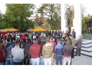 57. Alay Vefa Yürüyüşü ile Çanakkale şehitleri anıldı