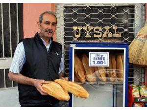 Salihli'de Ekmeğe 10 Kuruşluk Zam