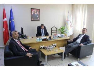 Başkan Cömertoğlu, TKDK'yı Ziyaret Etti