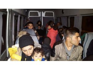 Edirne'de 30 Kaçak Göçmen Yakalandı