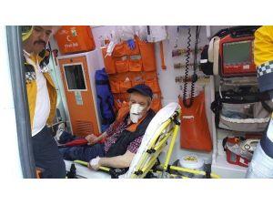 Düşerek Yaralanan Şahıs Polisi Alarma Geçirdi