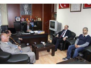 Erzincan Gazeteciler Cemiyetine Ziyaret