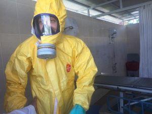 Aydın'da Kimyasal Tatbikat