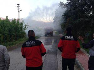 Nak Arama Kurtarma Ekibine Orman Yangınlarına Müdahale Eğitimi