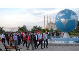 Adana'da 57. Alay Vefa Yürüyüşü
