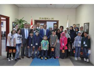 Uluslararası Öğrenciler Başkan Toltar'ı Ziyaret Etti