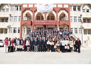Denizli'de Okullara Beyaz Bayrak