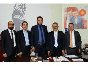 MÜSİAD'dan Başkan Ekici'yi Ziyaret Etti