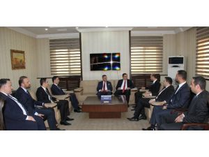 Gtb, Gagiad Yönetimini Ağırladı