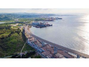 Osmangazi Köprüsü'ne Verilen Kavisle Ekolojik Denge Gözetiliyor