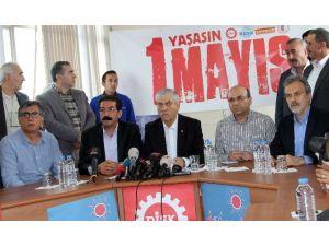"""DİSK Genel Başkanı Kani Beko: """"Bu Yıla Mahsus 1 Mayıs Bakırköy'de"""""""