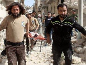 Rus jetleri Halep'e saldırdı: 18 ölü, 13 yaralı