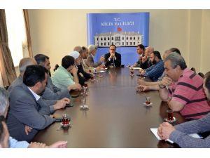 Suriyeli Kanaat Önderlerinden Valiliğe Ziyaret