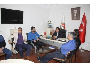 Hakan Kutlu'dan Tüfad Kayseri Şubesi'ne Ziyaret