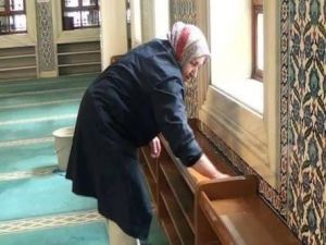 Erzincan'da Bayanlar İbadethaneleri Temizleyecek