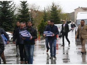 Yozgat'ta gözaltına alınan 6 kişi adliyeye sevk edildi